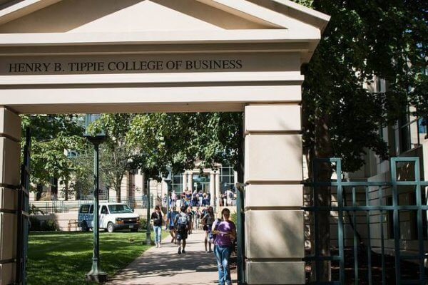 Iowa Hawkeyes graduate from the college of business