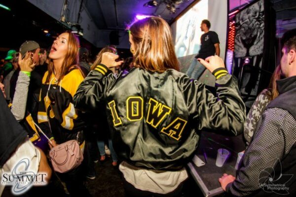 Iowa Hawkeyes know how to party