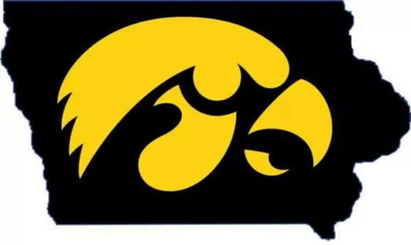 Iowa is the Hawkeyes state