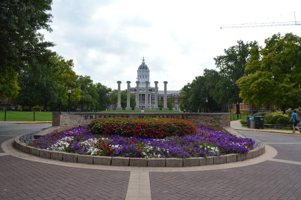 Mizzou looks beautiful in the springtime.