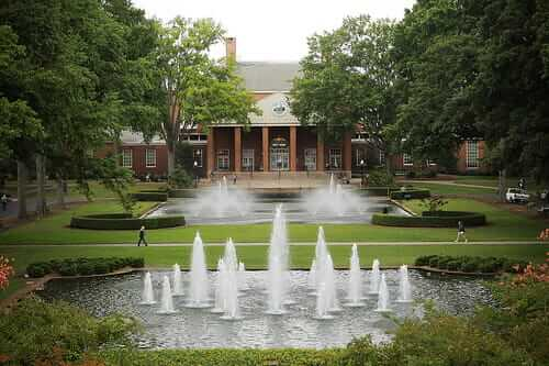 furman university most beautiful campuses