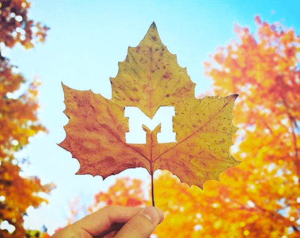 Michigan University symbol that oozes with creativity