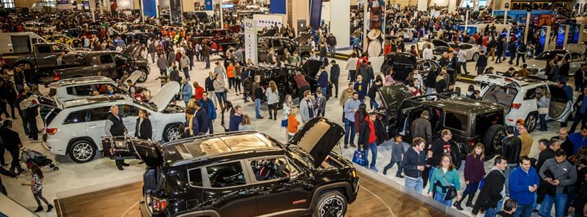 cars at the philadelphia auto show