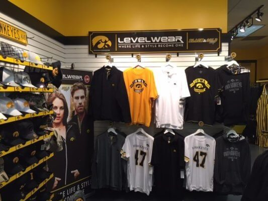 Iowa Hawkeyes have the best school colors and apparel