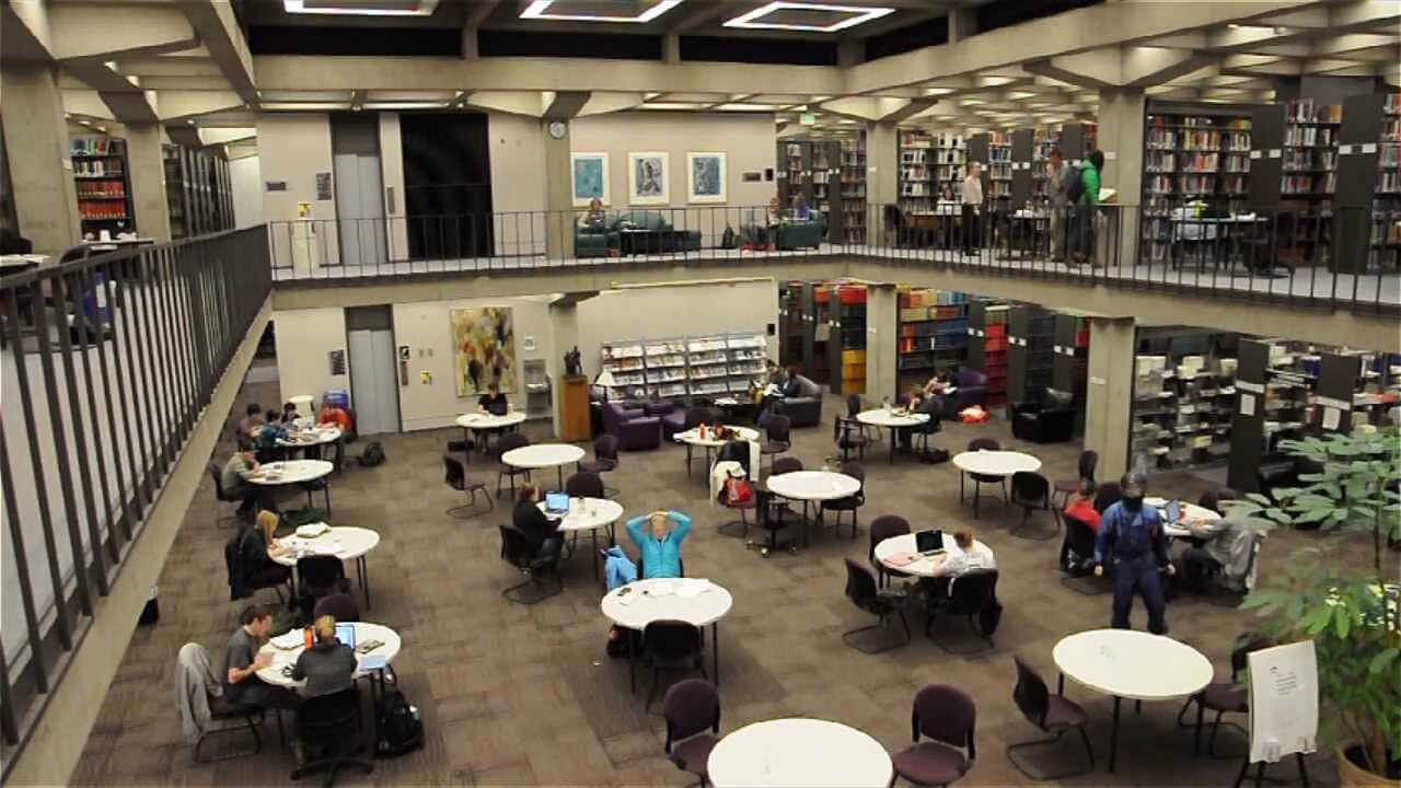 Top 10 Study Spaces At Colorado College