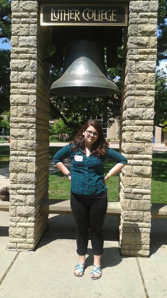 Taking your bell pics at is part of the Luther College Bucket List.