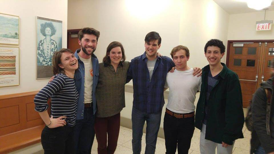 Vassar College students from Vassar Improv