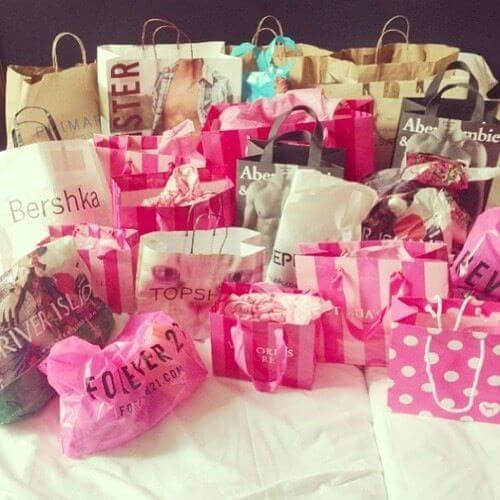 Take her shopping to find out what your girlfriend wants