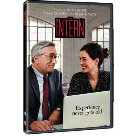 the intern dvd at walmart