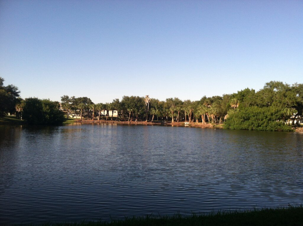 Frenchman's Creek, where thewaterfront is located.