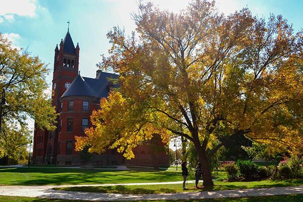 Fall leaves look fantastic at Gettysburg College.