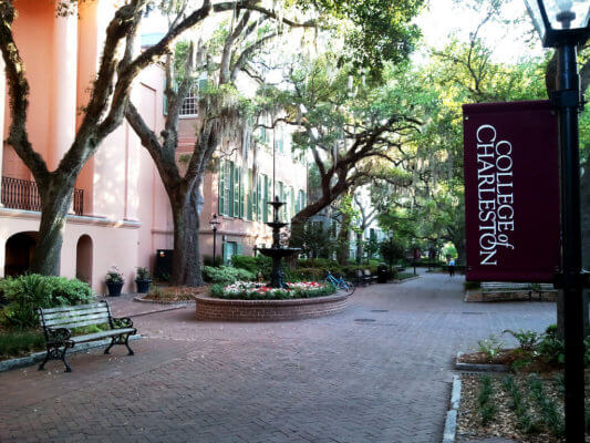 Enjoy a colonial winter at CofC.