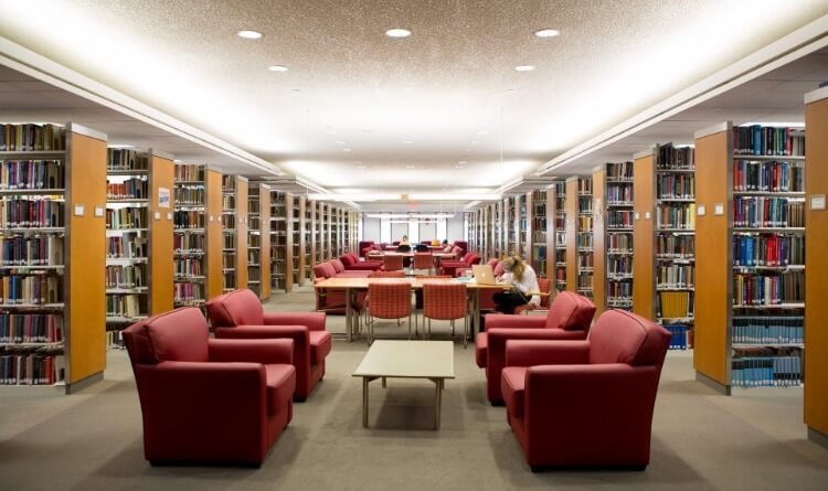 Gelman Library is a fantastic place for GW students to study.