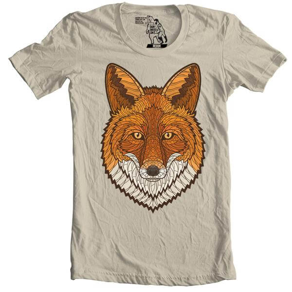 Buy yourself a fox tee to make you and boo happy.