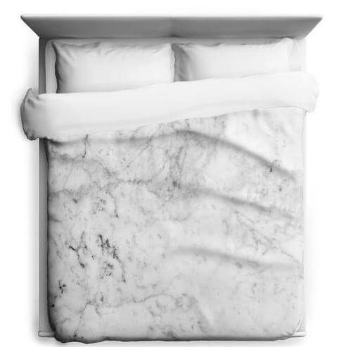 Marble duvet cover to get you laid
