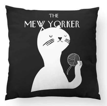 Give Your Roommate A Cute Throw Pillow