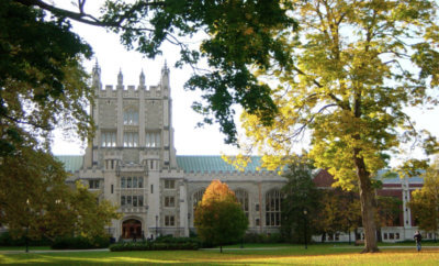 On campus building at Vassar College