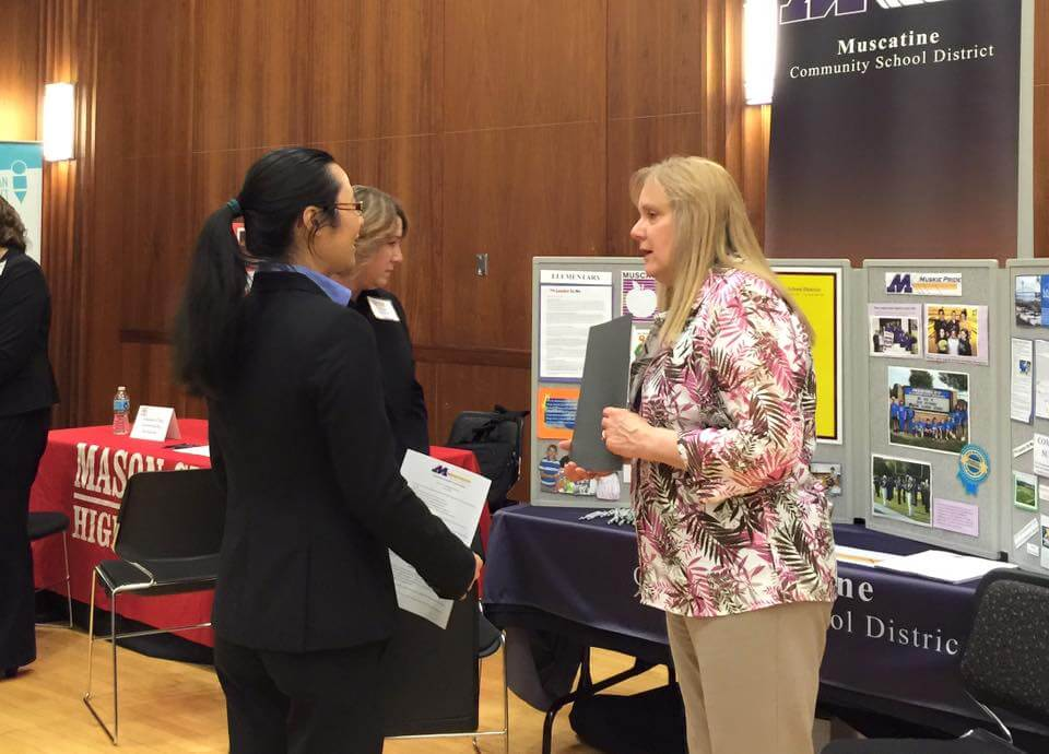 speed networking are a great career resources at iowa