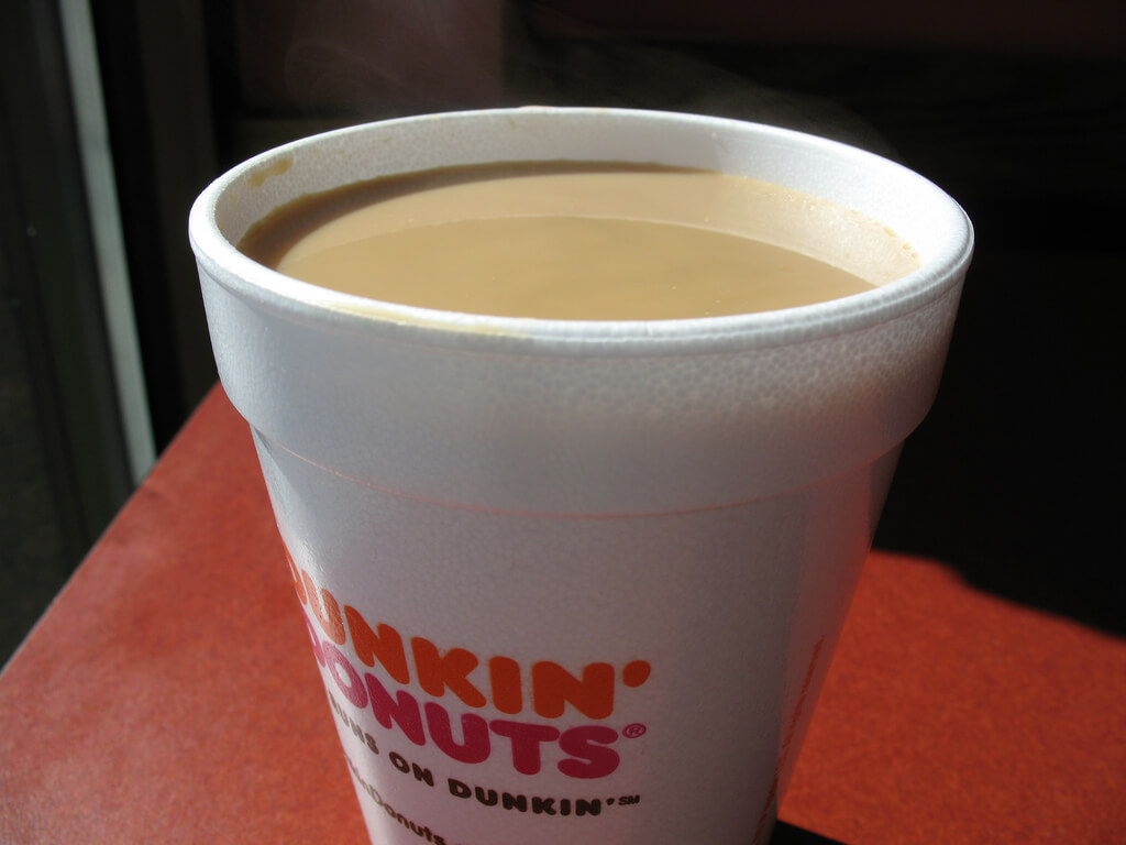 Dunkin' Donuts is a reliable coffee on BC's campus.