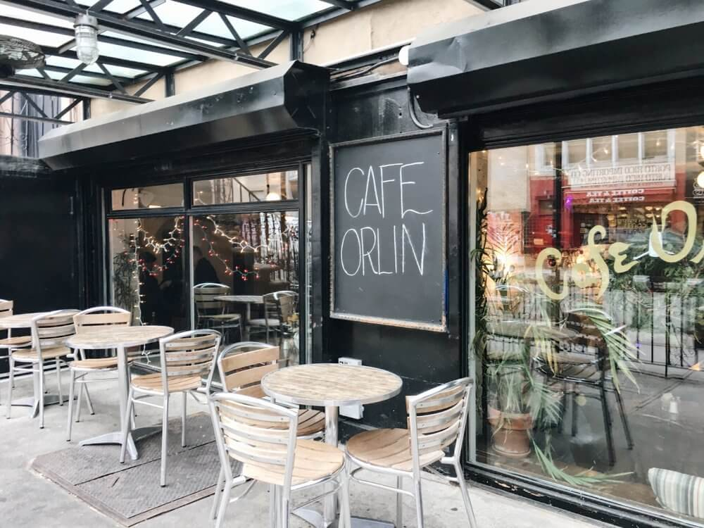 Cafe Orlin's delicious food makes NYU students' mouths water.