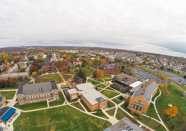 Unprotected campus college