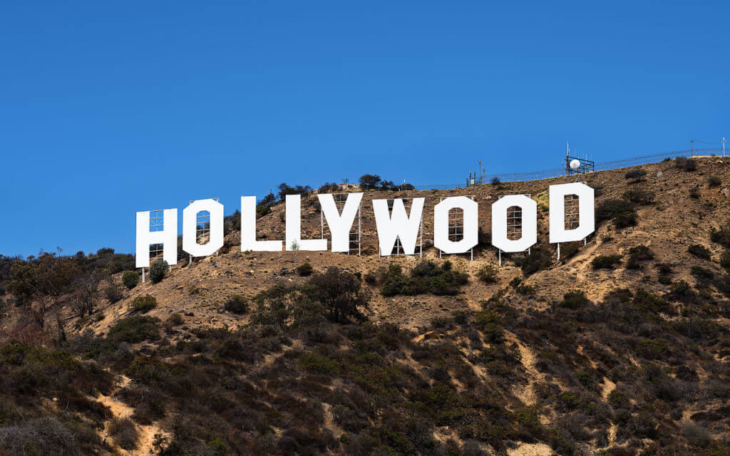 The Hollywood sign in L.A. is one of the places you can go to if you live on the Hill at UCLA.
