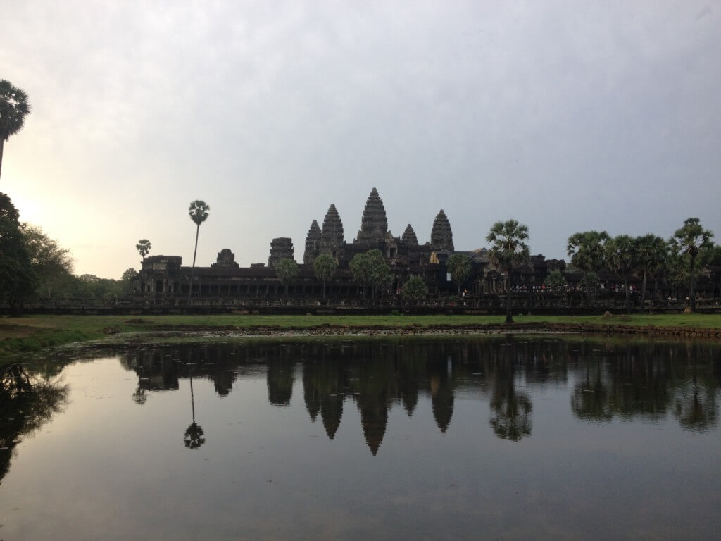 Angkor Wat, Cambodia, is the home of adventures.
