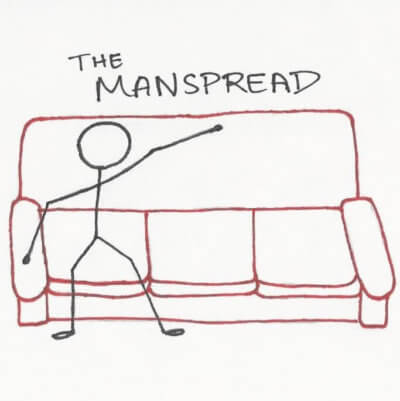 The Manspread is a promising way to power pose in a job interview.