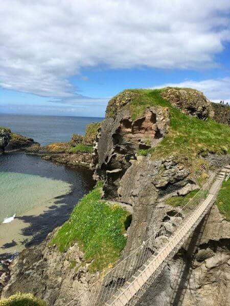 There's nothing like adventures to Carrick-a-Rede Bridge, Northern Ireland.