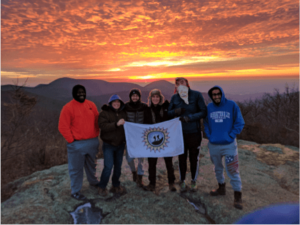 The Outdoor Club does cool things at Washington and Lee University.