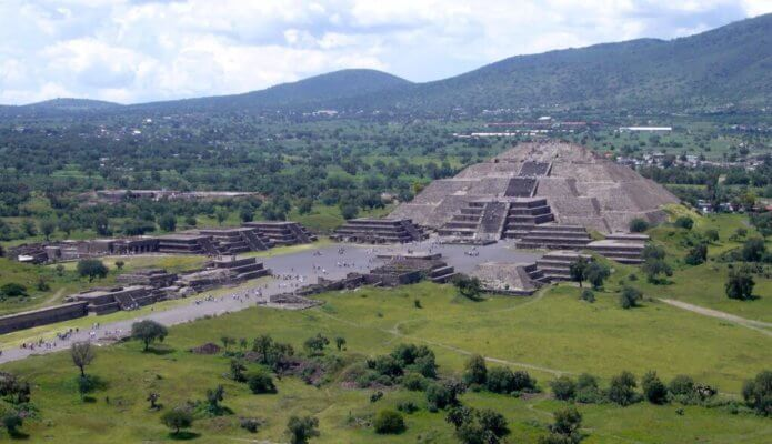 There are lots of adventures in Teotihuacan, Mexico.