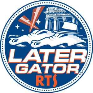 The RTS Later Gator Gainesville bus service logo