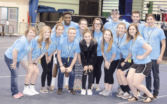 Students from the Mercyhurst student government