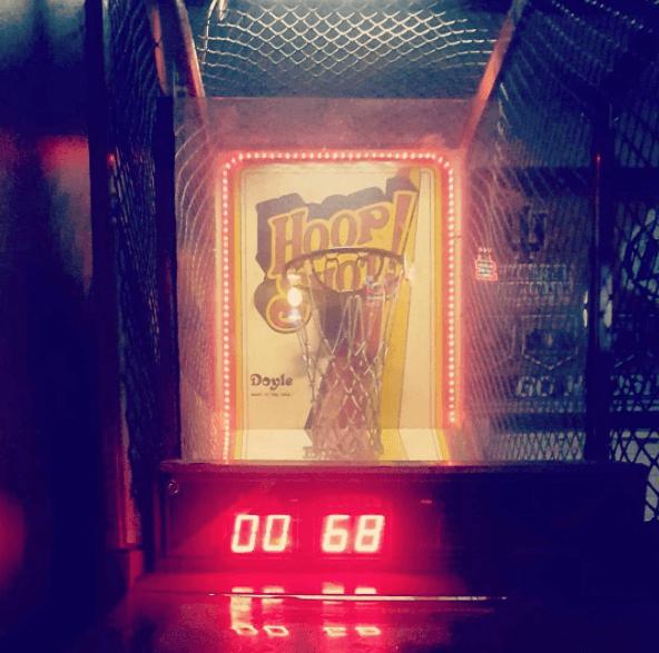 The Vid has fun arcade games.