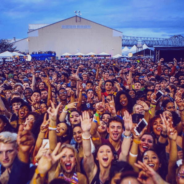 The insane BUKU crowds make it one of the 10 best weekends in NOLA.