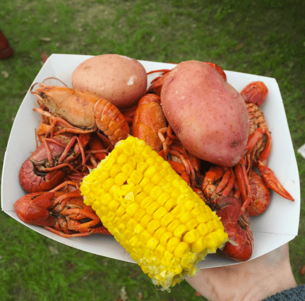Crawfish look funky, but taste delicious.