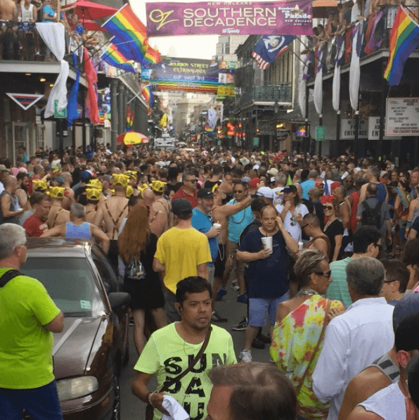 Southern Decadence is an insane weekend in NOLA for the LGBTQ community.