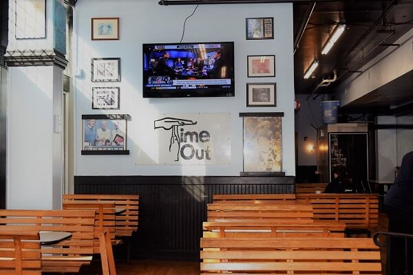 time-out restaurant on franklin street