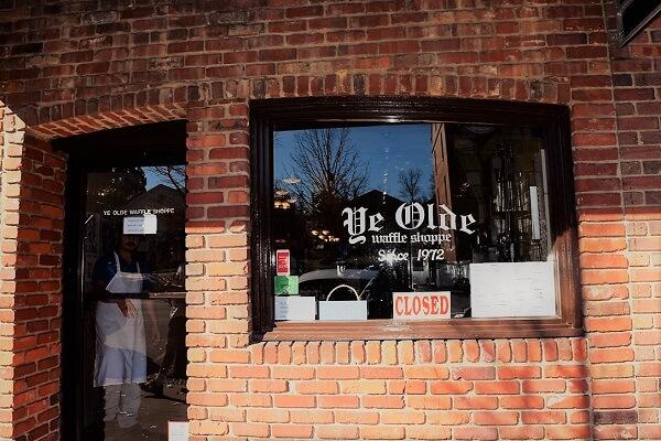 ye olde waffle shoppe on franklin street