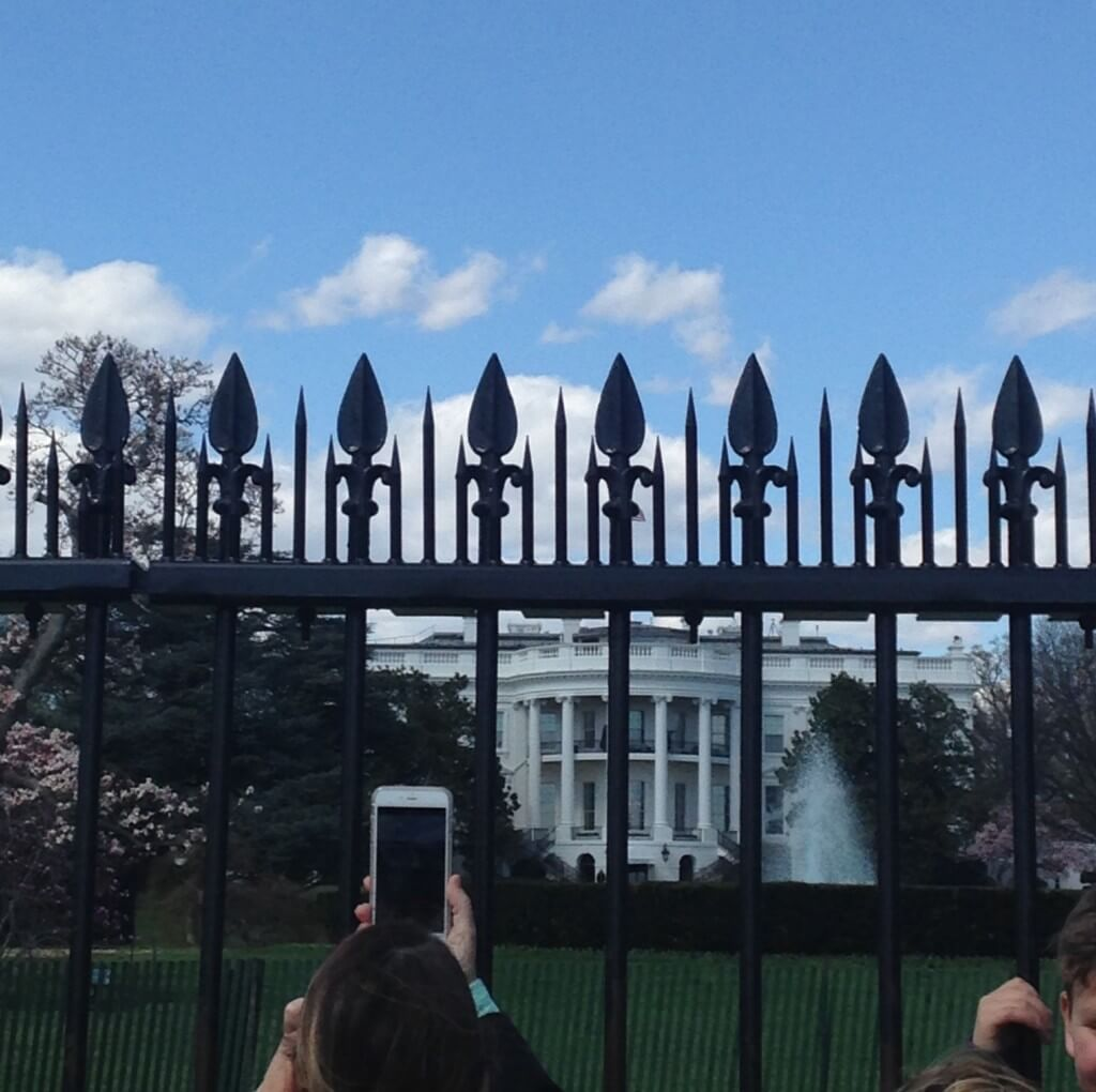 Check out those White House views
