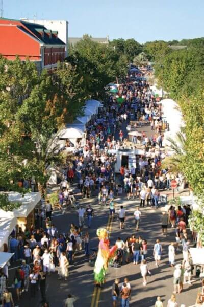The Downtown Art Fest is something fun to do in Gainesville