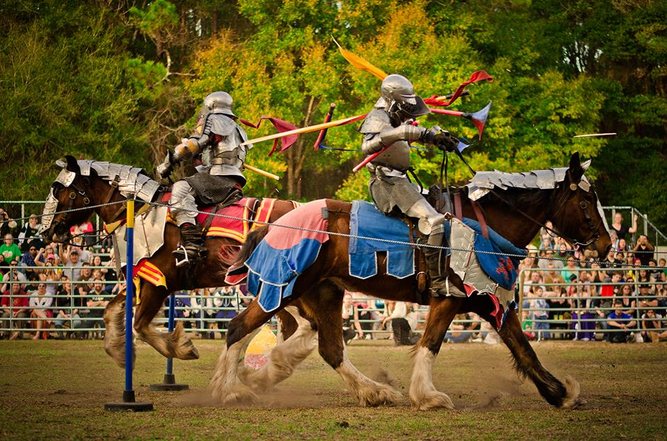 Going to the Medieval Fair is something fun to do in Gainesville