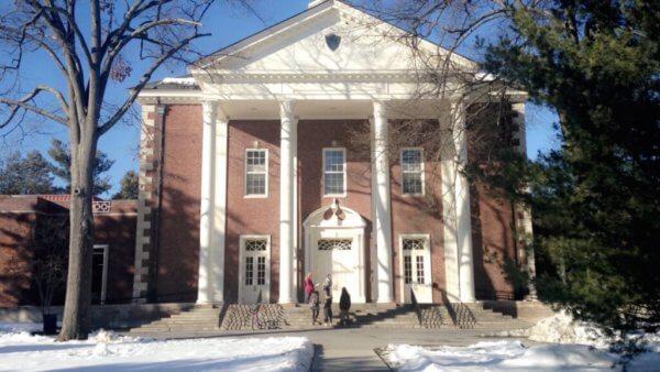 The Deece on Vassar's campus