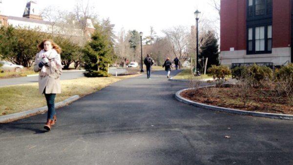 Vassar's campus
