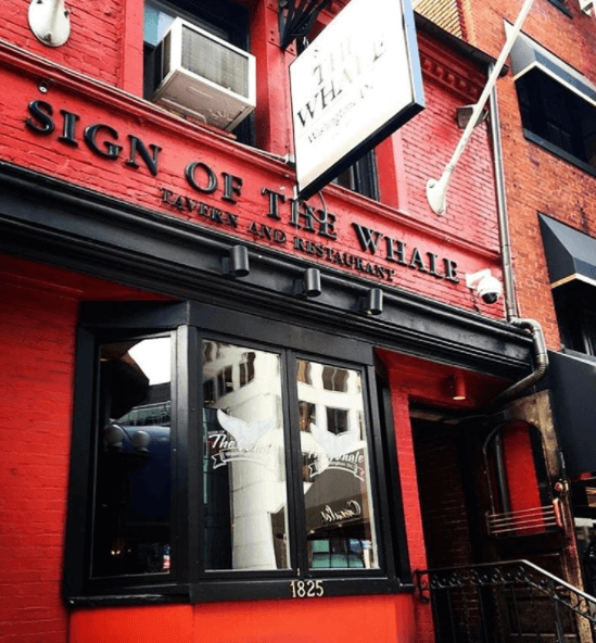 Sign of the Whale is one of the best bars in D.C.