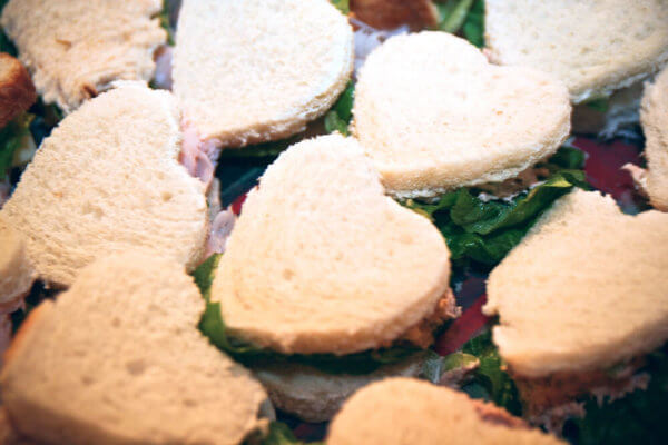 A Valentine's Day Picnic needs heart-shaped sandwiches