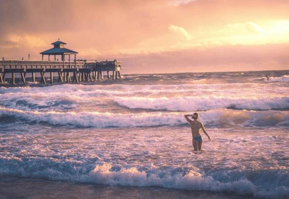 John Wellmeyer represents Florida scenery on Instagram.