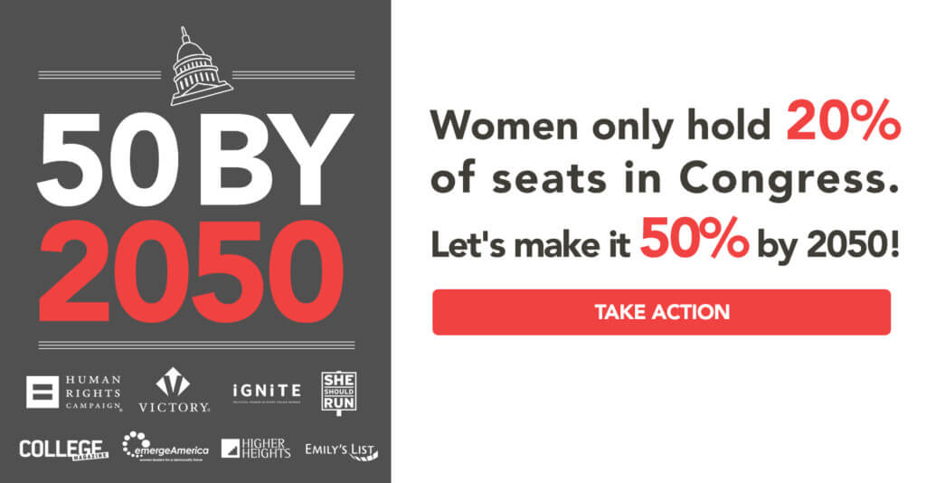 50 by 2050 More Powerful Women Leaders in Congress