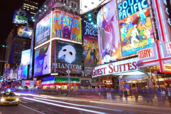 Theatre internships: DKC/O&M at Times Square broadway