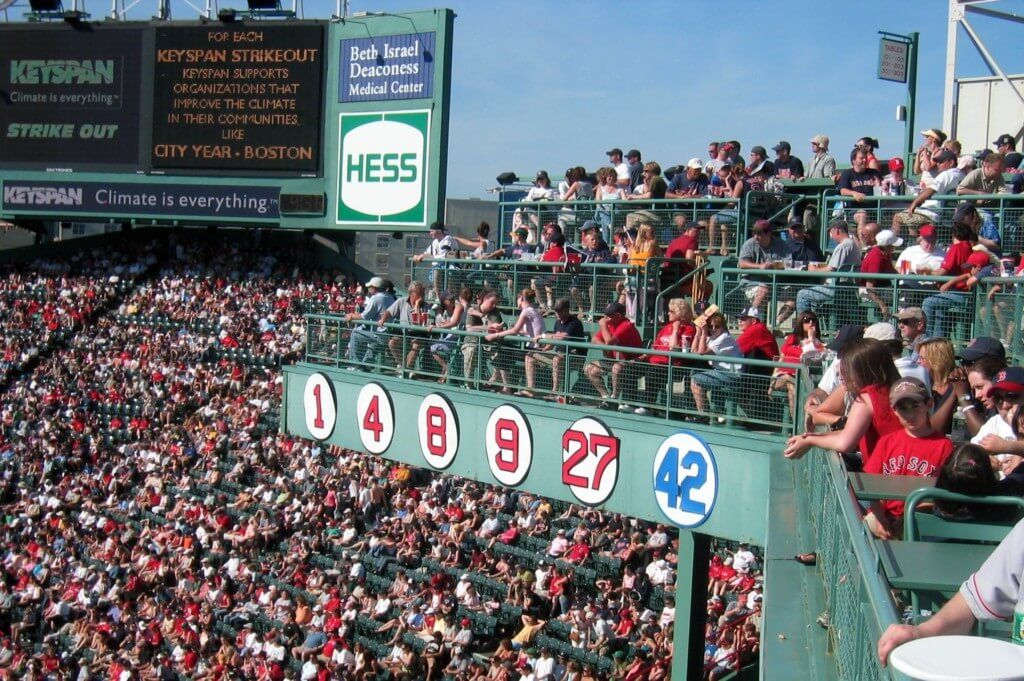 Fenway Stadium in Boston